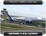 Donbassaero Airbus A320 - UR-DAA