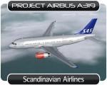 SAS Airbus A319 - OY-KBP