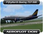 Aeroflot Don Boeing 737-500 - VP-BYU