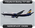 Aeroflot Don Boeing 737-400 - VQ-BCS