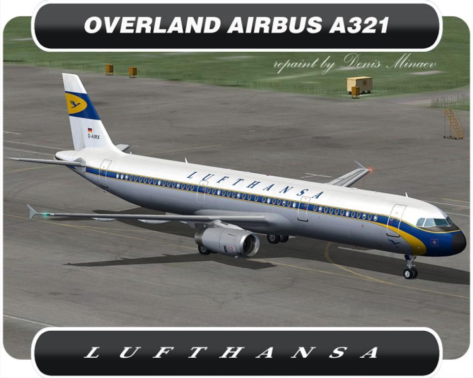 Lufthansa Retrojet Airbus A321 - D-AIRX