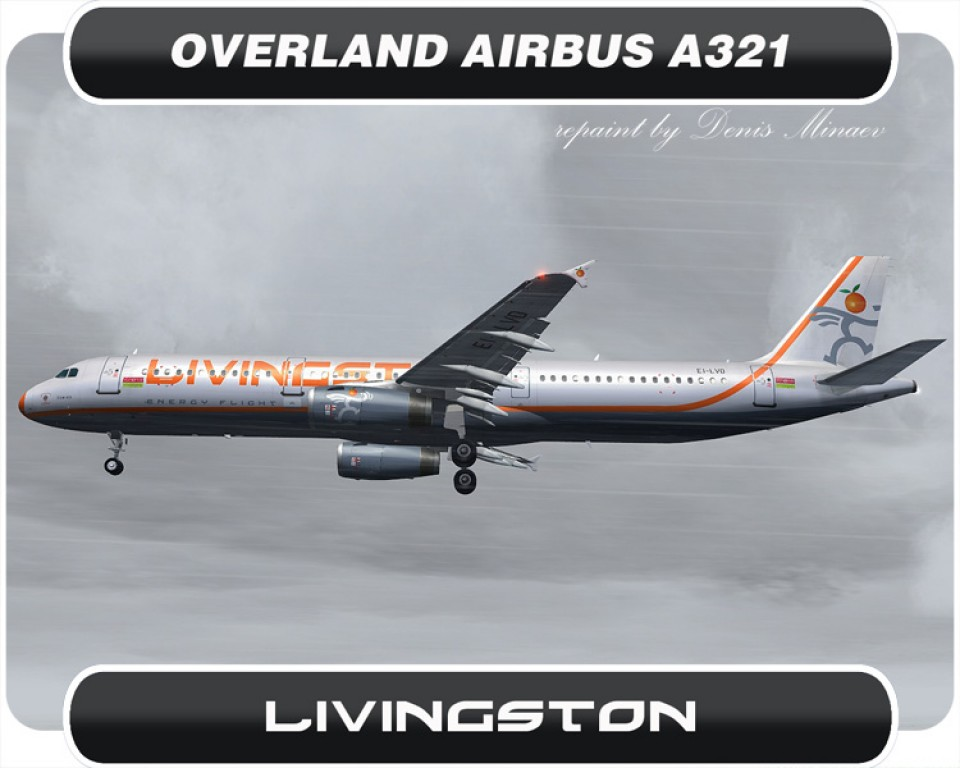 Livingston Airbus A321 - EI-LVD