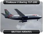 British Airways Boeing 737-200 - G-BGDT