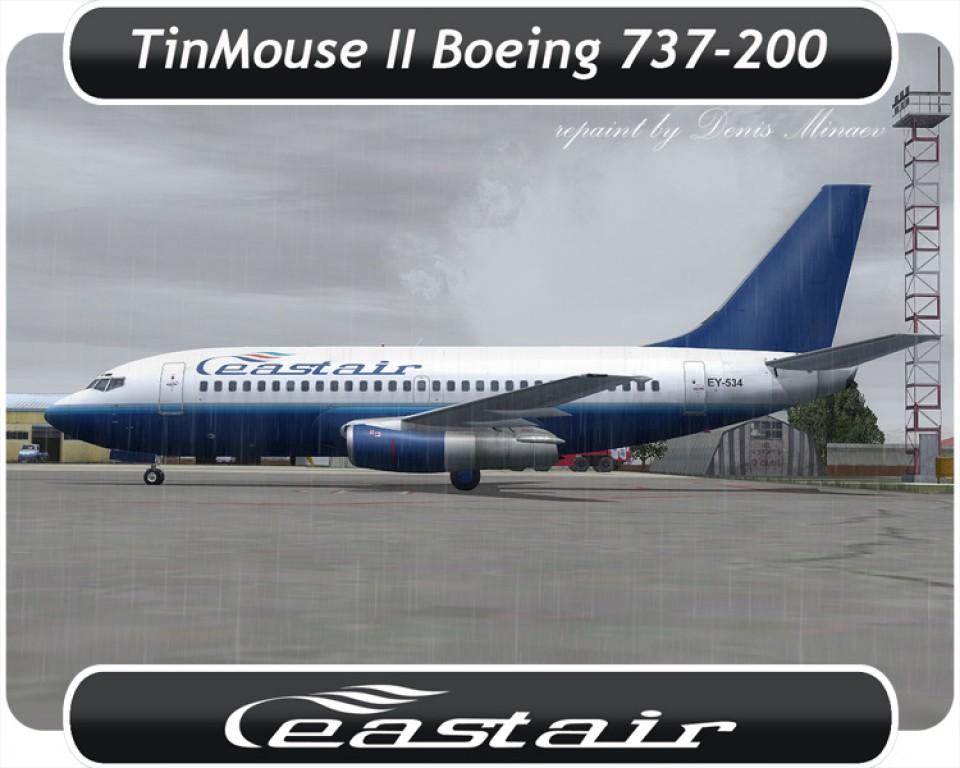 East Air Boeing 737-200 - EY-534
