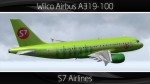 S7 Airlines Airbus A319-100 - VP-BTO
