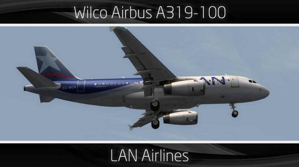 LAN Airlines Airbus A319-100 - CC-BCA
