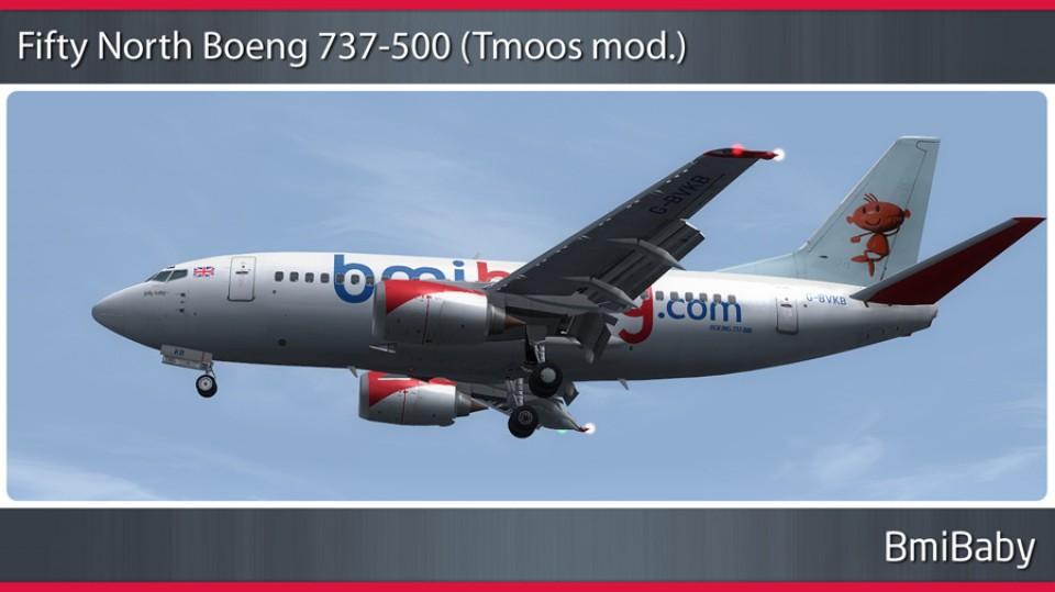BmiBaby Boeing 737-500 - G-BVKB