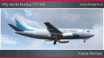 Yamal Airlines Boeing 737-500 - VP-BRS