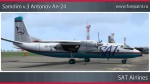 SAT Airlines Antonov An-24 - RA-46530