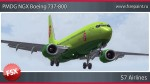 S7 Airlines Boeing 737-800 - VP-BNG