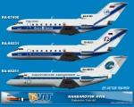 Khabarovsk Avia Yakovlev YAK-40