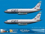 SAT Airlines Boeing 737-200 (Circa 2008)