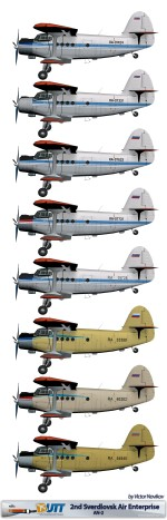 2nd Sverdlovsk Air Enterprise An-2
