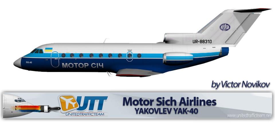 Motor Sich Yakovlev Yak-40 UR-88310