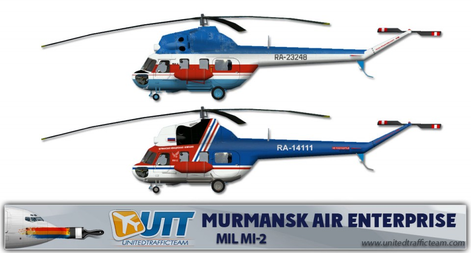 Murmansk Air Enterprise Mil Mi-2