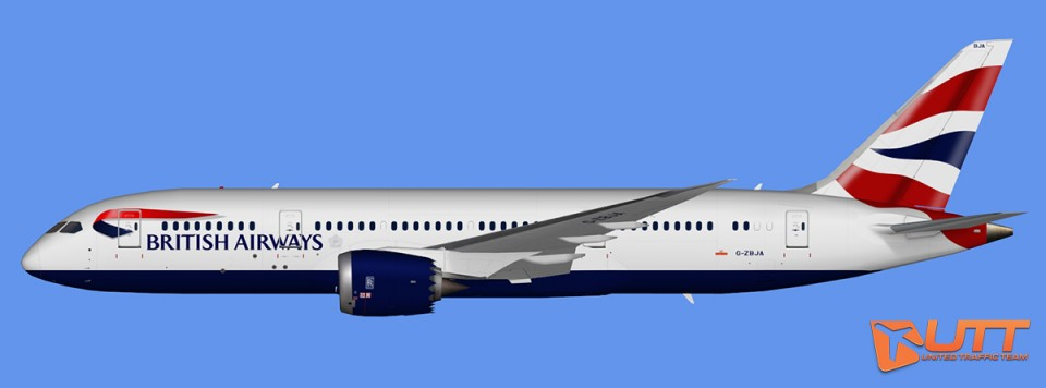 British Airways Boeing 787-8 Dreamliner (FSX,Prepar3D)