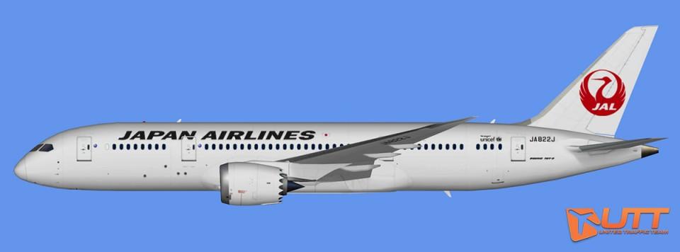 Japan Airlines Boeing 787-8 Dreamliner (FSX,Prepar3D)