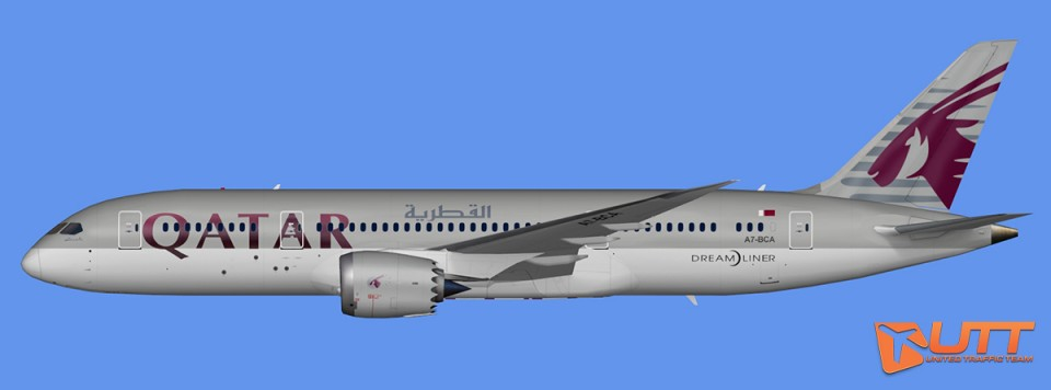 Qatar Airways Boeing 787-8 Dreamliner Pack (FSX,Prepar3D)