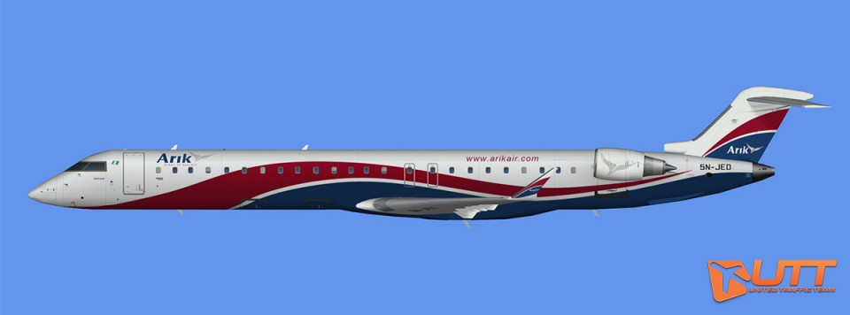 Arik Air CRJ-900 (FS2004)