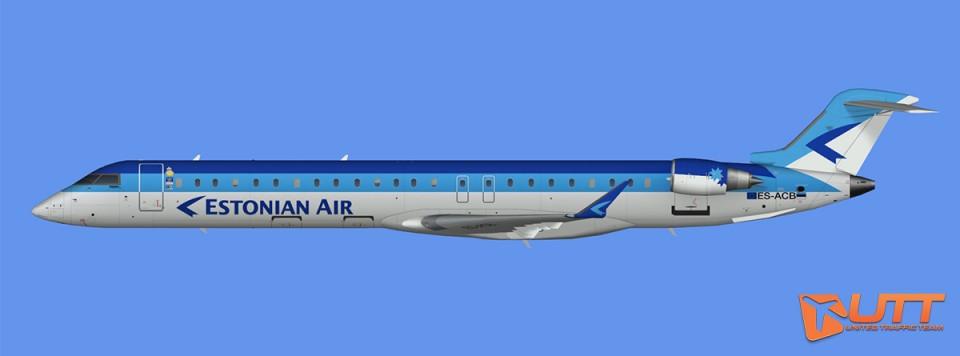 Estonian Air CRJ-900 (FS2004)