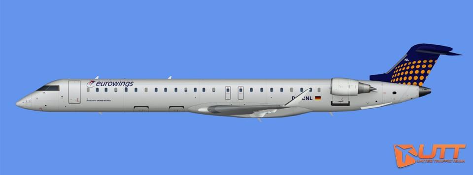 Eurowings CRJ-900 (FSX)