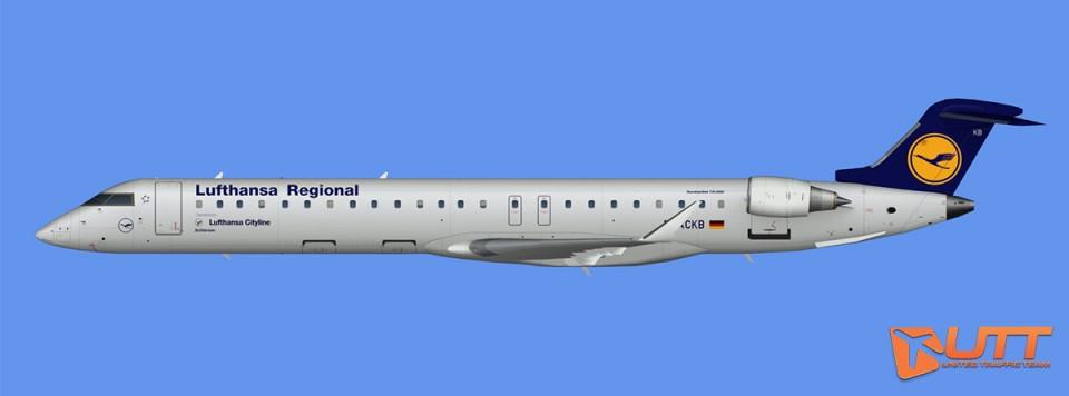 Lufthansa Regional CRJ-900 (FSX)