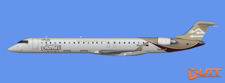 Libyan Airlines CRJ-900 (FSX)