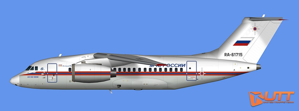 EMERCOM of Russia An-148