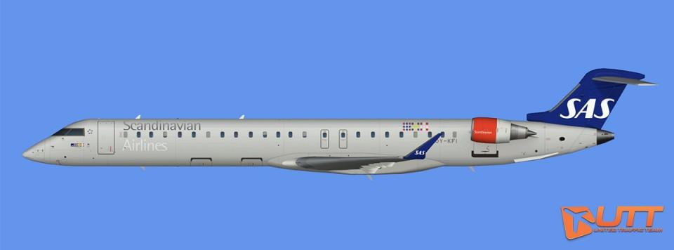 Scandinavian Airlines CRJ-900 (FSX)