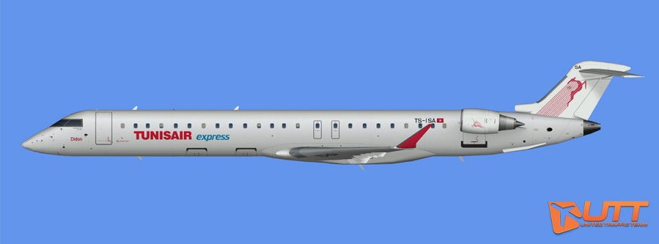 Tunisair Express CRJ-900 (FSX)