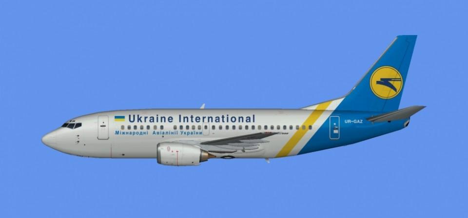 Ukraine Intl Boeing 737-500