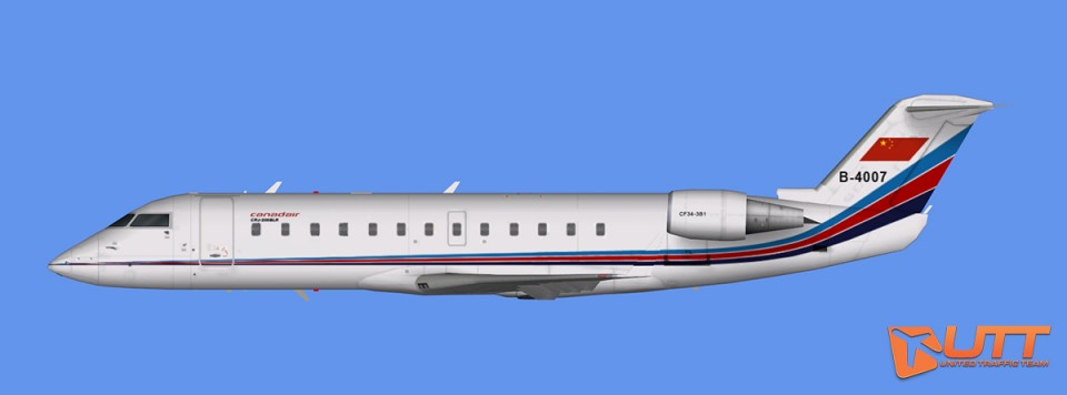 AI CRJ-200 China Air Force
