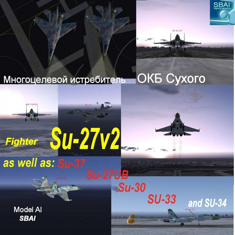 SBAI AI Su-27