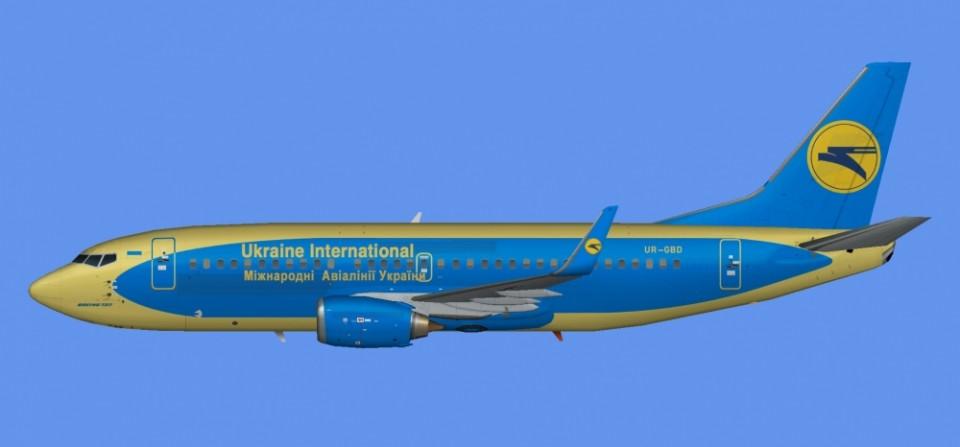 Ukraine Intl Boeing 737-300 UR-GBD