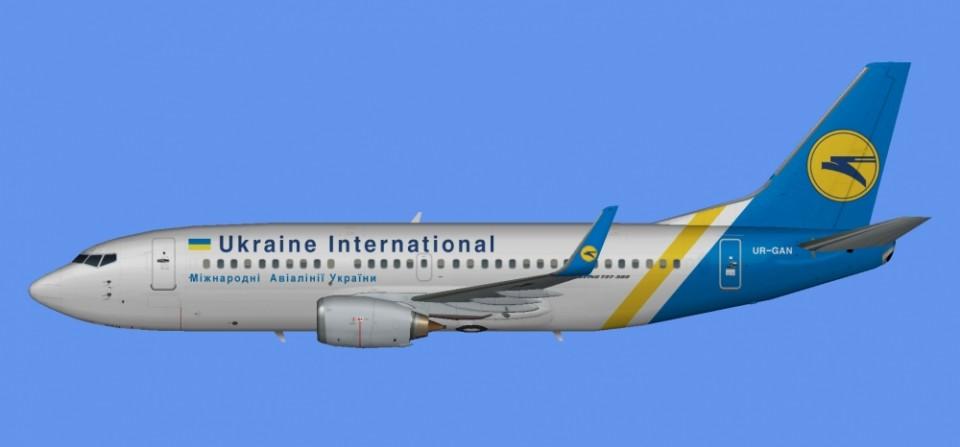 Ukraine Intl Boeing 737-300 UR-GAN
