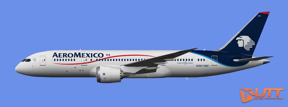 AeroMexico Boeing 787-8 (FS2004)