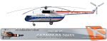 SBAI AI Heli Mi-8T GAZAVIA RA-24653