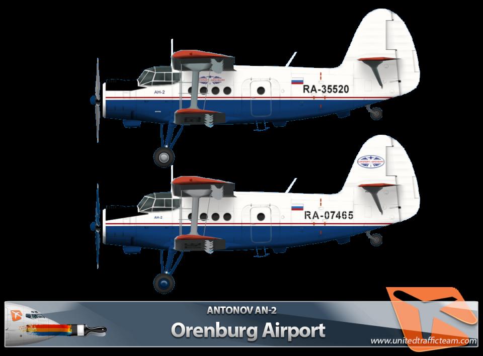 RWAI An-2 Orenburg Airport