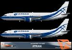 Atran Boeing 737-400F