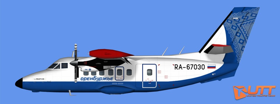 L-410 Orenburjye (RA-67033,RA-67032,RA-67031,RA-67030)