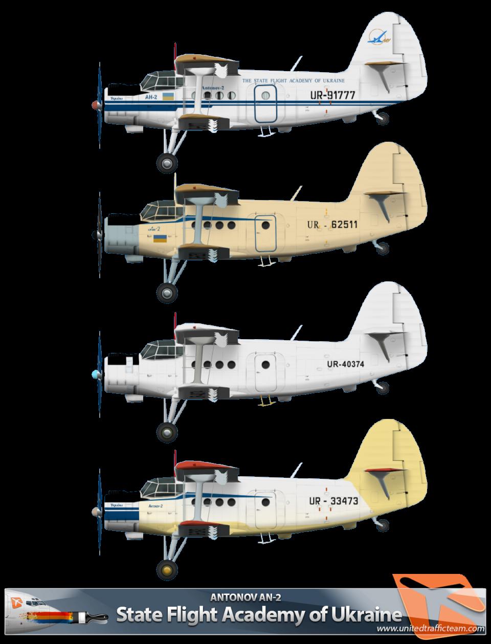 State Flight Academy of Ukraine RWAI An-2