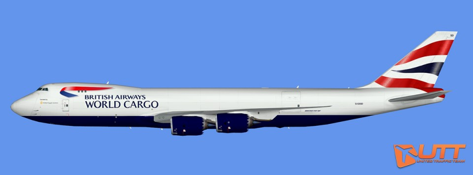 British Airways Boeing 747-8F (opt by Global Supply Systems)